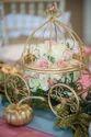 Modern Golden Decorative Buggi For Decoration