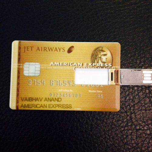 Credit Card Shape Pen Drive