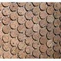 Cork Mosaic Wall Covering
