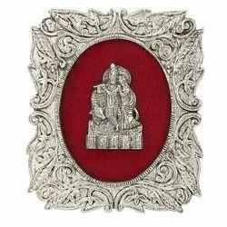 Krishna Frame Metal Sculpture