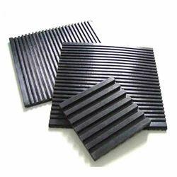Black Anti Vibration Rubber Pad