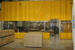 PVC Soft Wall Curtains for Construction