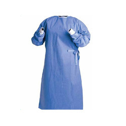 Disposable Sms Surgeon Gown Blue