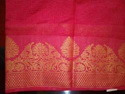 Pratha Synthetic Sarees, Hand Made