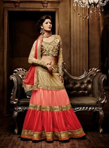 a37daba42f Stunning Look Heavy New Designer Party Wear Lehenga - Angels Fashion ...