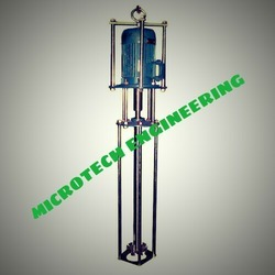 MICROTECH ENGINEERING Single Phase Three Phase Vertical Mixing Stirrer, Model: IS, Model Name/Number: Vms