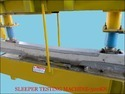 SBT Test of Concrete Sleepers  -  500kn