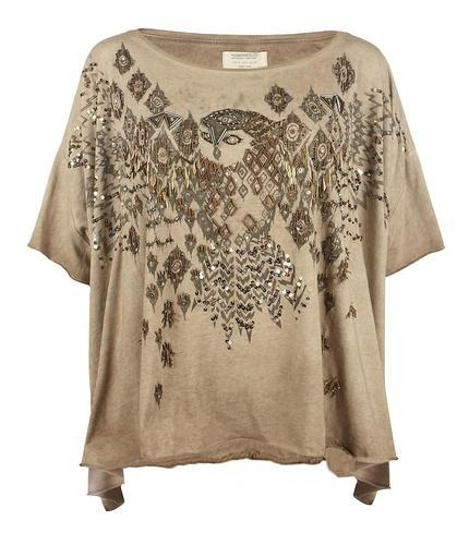 Womens Embellished Top