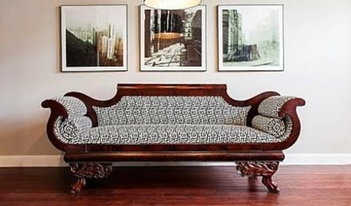 Awesome Designer Wooden Sofa Set