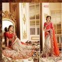 Thread Embroidery Designer Saree