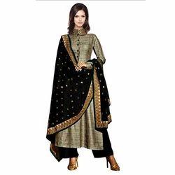Ladies Silk Salwar Kameez at Rs 1795 /piece | Ladies Silk Suit ...