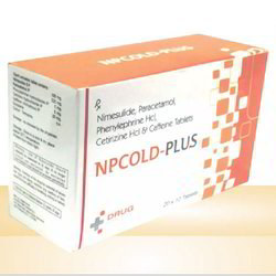Phenylephrine and Cetirizine Hcl Tablet