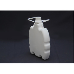 2 Litre HDPE Calcium Flat Bottle