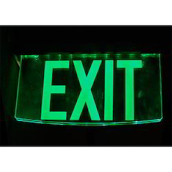 Signage Exit Poster