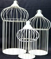 Metal Cage Candle Holder