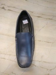 Sun Shine Navy Blue Men Loafer Shoes