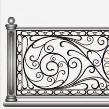 Decorative Stainless Steel Railing