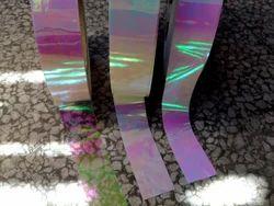 Transparent Laser Iridescent Spickglobal Hula Hoops Exotic Deco Tapes, Size: 12/15/20/25 Mm
