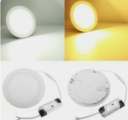 9w Round 3in1 LED Panel Light