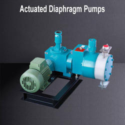 Actuated Diaphragm Pumps