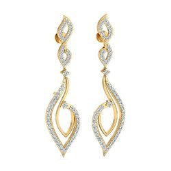 14k Hallmark Diamond Earring
