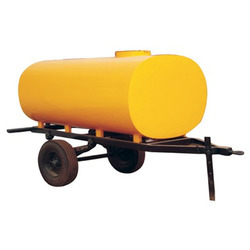 Heavy Duty 4 Wheel Water Tanker