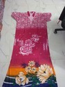 Portion Cotton With Chinese Color Fancy Nighty