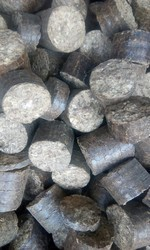 Less Than 10 % 70 Mm Groundnut Shell Briquette, Packaging Type: HDPE Bag, Packaging Size: 30 Kg
