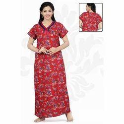 Ladies Printed Cotton Nighty a884876fa