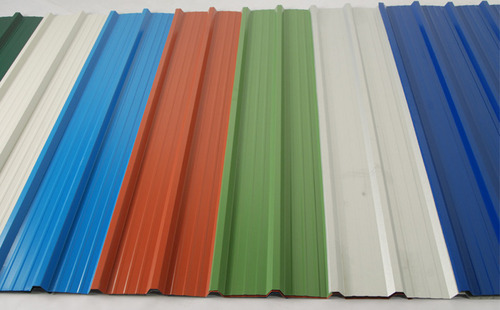 Tata Color Coated Roofing Sheets Gi Coated Roofing Sheet