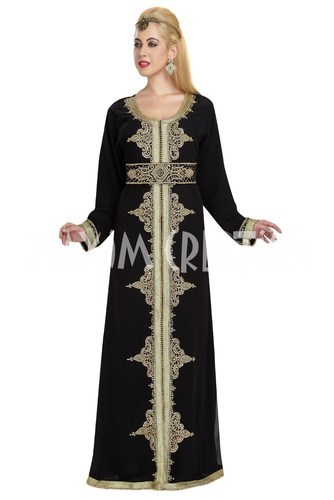 Saudi Arabian Party Wear Evening Gown 5872 at Rs 5000 /piece ...