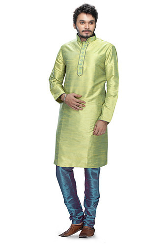 Party Wear Pastel Tanchui Silk Kurta Pajama