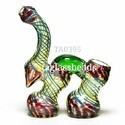 Glass Double Chamber Bubbler
