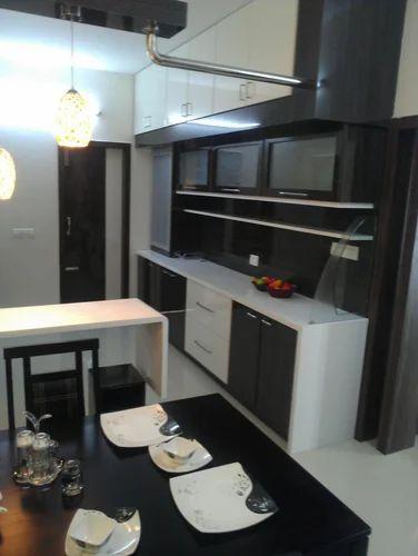 Modular Kitchen Wooden Work