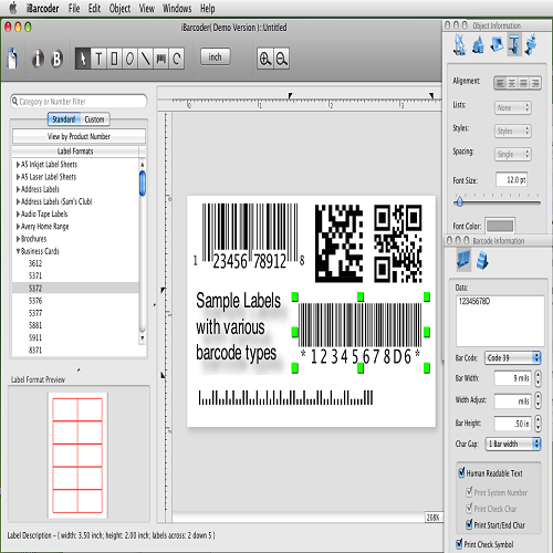 Barcode Label Software Barcode Software Manufacturer From Mumbai