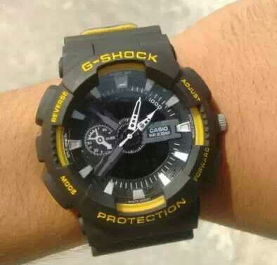 a1367d2700a9 Blasck And Yellow Casio G Shock Watch