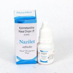 Nazilet Xylometazoline Nasal Drops, Packaging Size: 10 ml, Medicine Grade