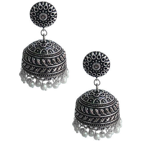 product jewelry pure ethno tone macs classic earrings dual silver