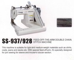 Feed off the Arm Double Chain Stitch Machine