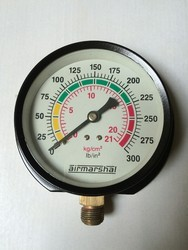 Plastic Body Analog Pressure Gauge