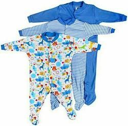 Cotton Unisex Baby Rampers