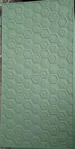 Designer Interior Decor MDF 3D Wall Panel, Length: 96 Inch | ID