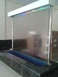 Glass Water Screen Fountain Kaanch Waali Paani Ki Screen