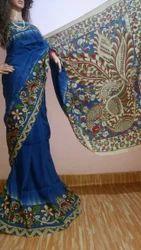 Wedding Wear Kalamkari Saree