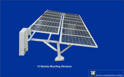 Solar Module Mounting Structure manufucture india - Single Pole