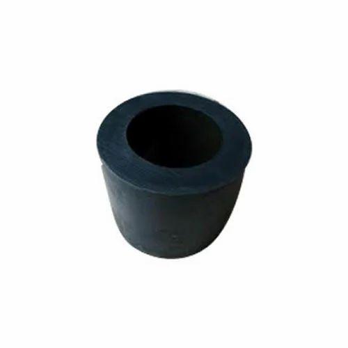 Black Hollow Cylindrical Cast Nylon Bush