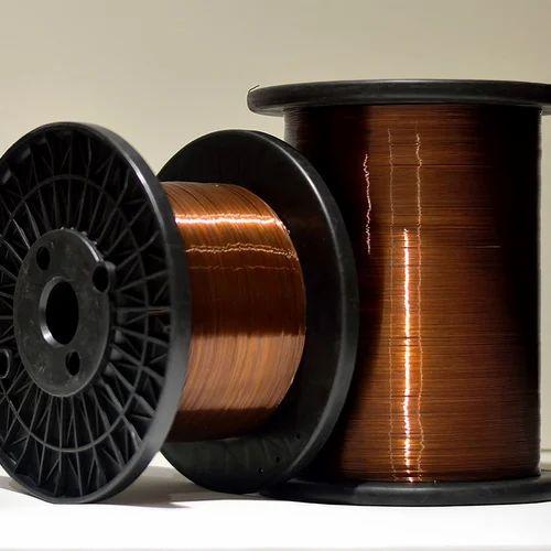 Rectangular Enameled Aluminium Wire