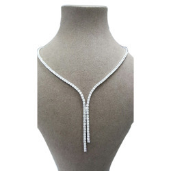 Sheetal Impex Earth Mine认证7.20tcw真天然钻石18kt白金钻石项链