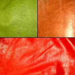 Coloured Sheep Leather
