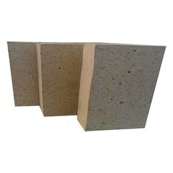 Dark Yellow Refractories High Alumina Refractory Tiles, Thickness: 75 mm